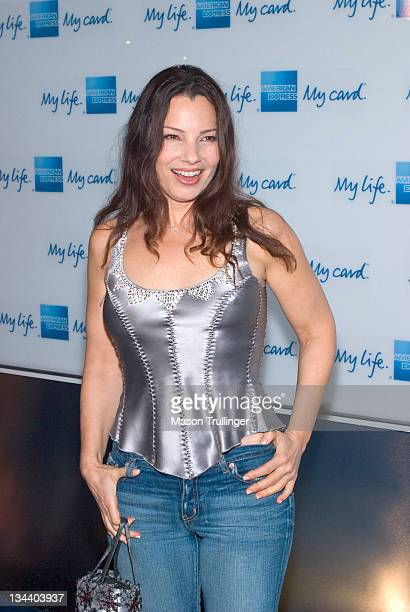 Fran Drescher during American Express 'Jam Sessions' at the House of Blues Red Carpet at House of Blues in Los Angeles California United States