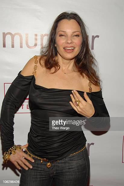 Fran Drescher during Borgata party at murmur at murmur in New York City New York United States