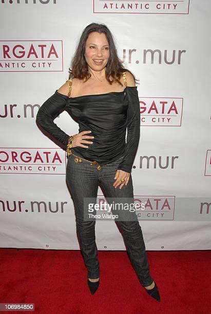 Fran Drescher during Borgata party at murmur at murmur in New York City New York United States