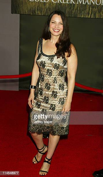 Fran Drescher during 'Cold Creek Manor' Premiere at El Capitan Theatre in Hollywood California United States