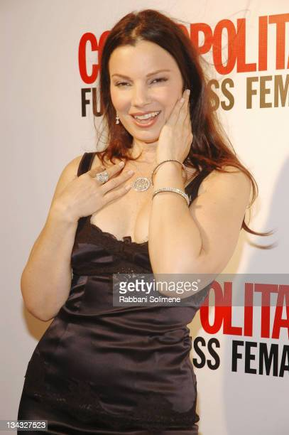 Fran Drescher during Cosmopolitan's 40th Anniversary at Skylight Studio in New York City New York United States