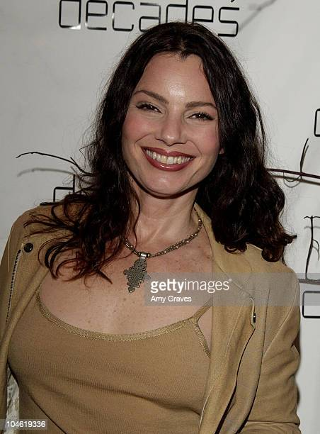 Fran Drescher during Decades Presents Live the Fantasy Kaisik Wong Retrospective at Decades in Los Angeles California United States
