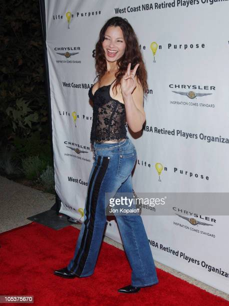 Fran Drescher during Esquire House Hosts Penny Marshall's Birthday Party to Benefit The Life On Purpose Foundation and The West Coast NBA Retired...
