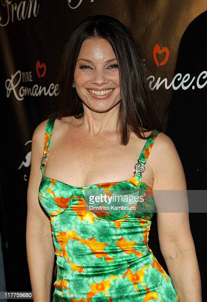 Fran Drescher during Fran Drescher Celebrates the Premiere of 'Living With Fran' Sponsored by Pureromancecom at Cain in New York City New York United...