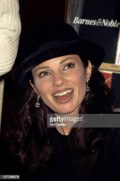 Fran Drescher during Fran Drescher Signs Her Book 'Enter Whining' at Barnes Noble in New York City February 26 1996 at Barnes Noble in New York New...