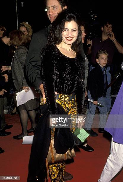 Fran Drescher during Groundhog Day Hollywood Premiere at Mann's Village Theater in Westwood California United States
