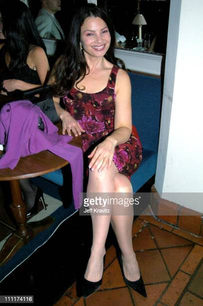 Fran Drescher during HBO Films Pre Golden Globes Party Inside Coverage at Chateau Marmont in Los Angeles California United States