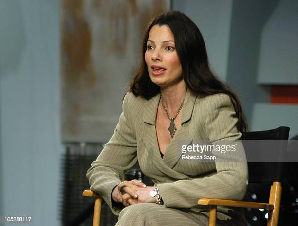 Fran Drescher during High Def Expo at Petersen Automotive Museum in Los Angeles California United States