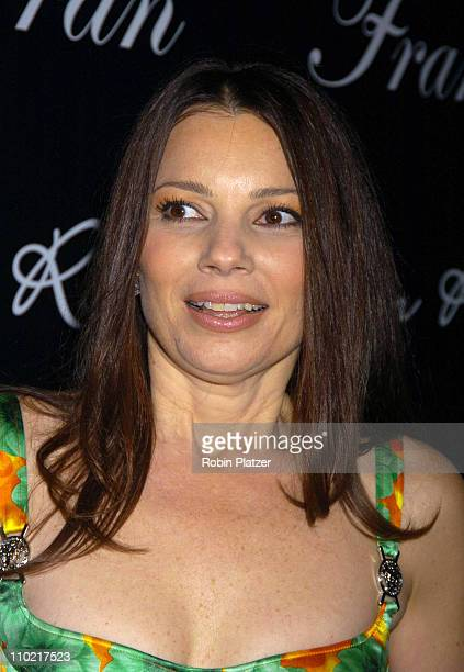 Fran Drescher during 'Living with Fran' Premiere Party Sponsored by PureRomancecom at Cain Lounge in New York City New York United States