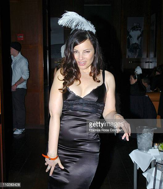 Fran Drescher during New Year's 2006 in New York City Carson Daly's New Year's Eve Party at Hudson Bar in New York City New York United States