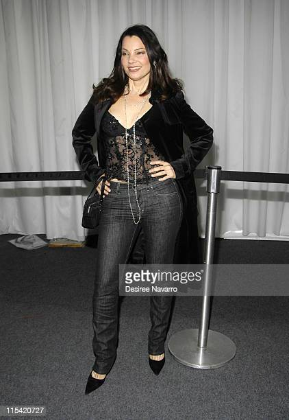 Fran Drescher during Olympus Fashion Week Fall 2006 - Baby Phat - Inside Arrivals and Departures at The Tent, Bryant Park in New York City, New York,...