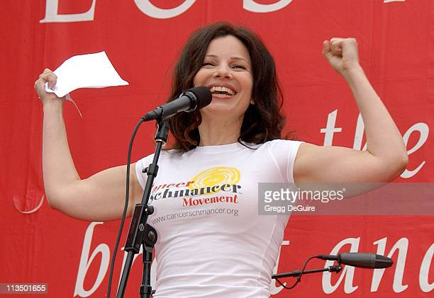 Fran Drescher during The 14th Annual Entertainment Industry Foundation Revlon Run/Walk for Women at Los Angeles Memorial Coliseum in Los Angeles...