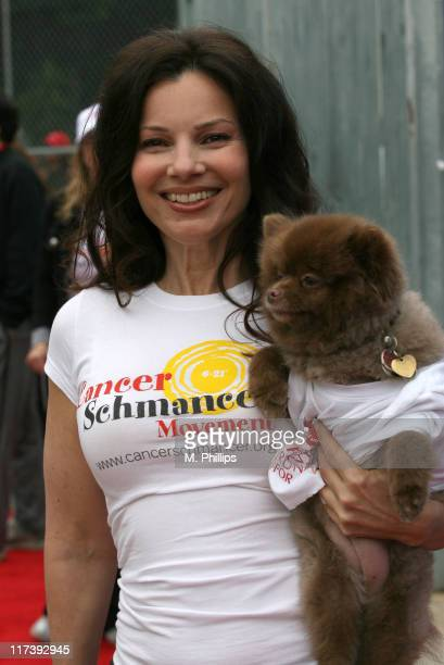 Fran Drescher during The Entertainment Industry Foundation's 14th Annual Revlon Run/Walk for Women at Los Angeles Memorial Coliseum at Exposition...