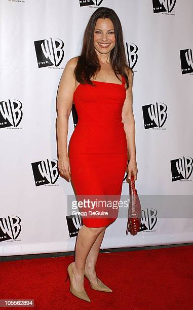 Fran Drescher during The WB Television Network's 2005 All Star Party - Arrivals at Warner Bros. Studio in Burbank, California, United States.