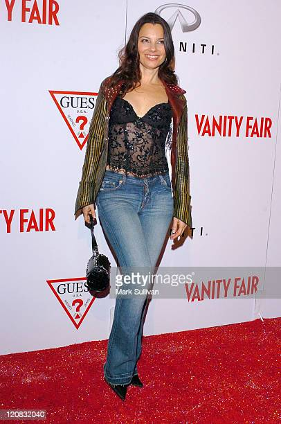 Fran Drescher during Vanity Fair Amped Arrivals at The Hollywood Roosevelt Hotel in Hollywood California United States