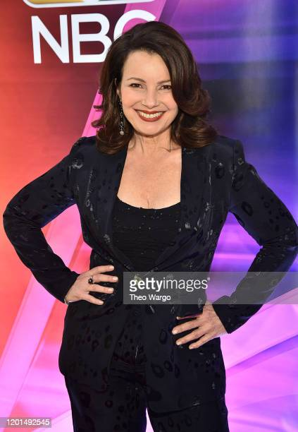 "Fran Drescher from ""Indebted"" attends the NBC Midseason New York Press Junket at Four Seasons Hotel New York on January 23, 2020 in New York City."