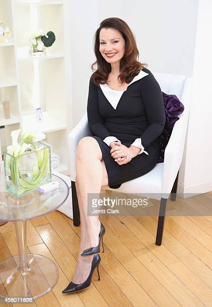 Fran Drescher hosts Yes by Finishing Touch Spa Event at Bryant Park Hotel on October 29 2014 in New York City