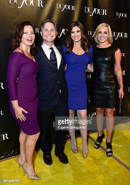 Fran Drescher Jason Binn Kimberly Guilfoyle and Jamie Colby attend the DuJour Magazine Launch Party Hosted by Jason Binn Christy Turlington Burns and...