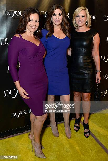 Fran Drescher Kimberly Guilfoyle and Jamie Colby attend the DuJour Magazine Launch Party Hosted by Jason Binn Christy Turlington Burns and Bruce...