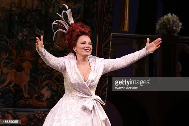 Fran Drescher makes her debut in 'Broadway's 'Rodgers and Hammerstein's Cinderella' at Broadway Theatre on February 4 2014 in New York City