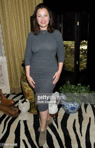 "Fran Drescher poses for portrait at the LA Premiere of Renee Taylor's ""My Life On A Diet"" Night 1 at Wallis Annenberg Center for the Performing Arts..."