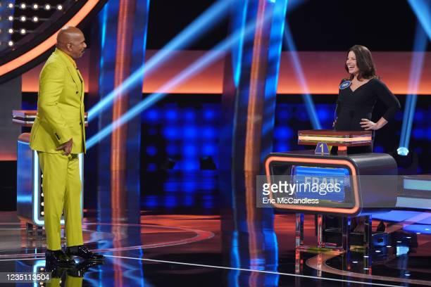 Fran Drescher vs. Charles Shaughnessy and Jessie James Decker & Eric Decker vs. Chris Bosh Actors Fran Drescher and Charles Shaughnessy from the...