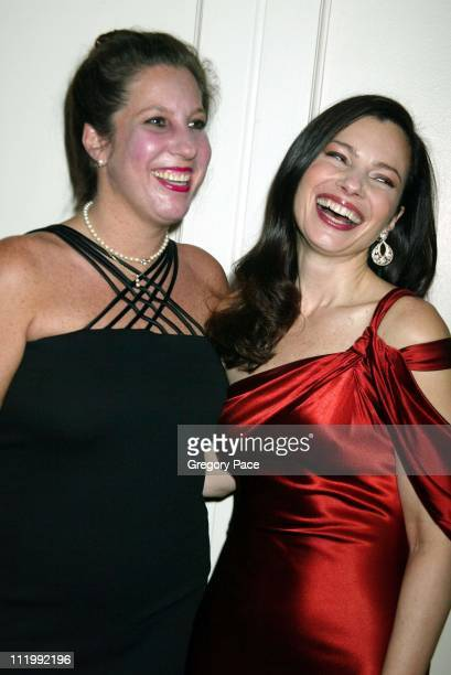 Fran Drescher with her sister Nadine during The Jewish Museum's 17th Annual Gala Masked Ball in Celebration of Purim'Hooray for Hollywood' Theme at...