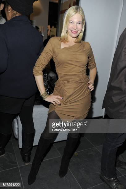 Fran Farber attends 8TH ANNUAL BoCONCEPT/KOLDESIGN HOLIDAY PARTY at BoConcept on December 14 2010 in New York City