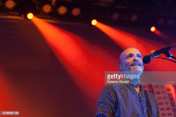 Fran Healy of Scottish rock band Travis performs live on stage at O2 ABC Glasgow on May 6 2016 in Glasgow Scotland