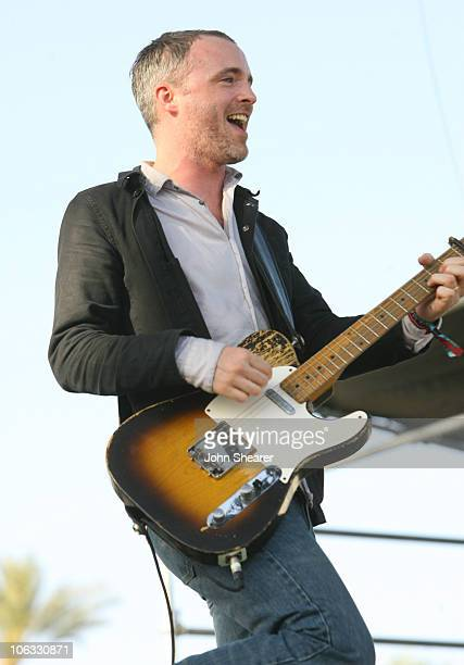 Fran Healy of Travis during 2007 Coachella Valley Music and Arts Festival Day 2 at Empire Polo Field in Indio California United States