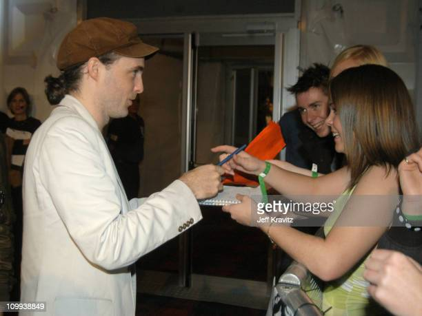 Fran Healy of Travis during MTV Europe Music Awards 2003 Arrivals at Ocean Terminal Arena in Edinburgh Scotland