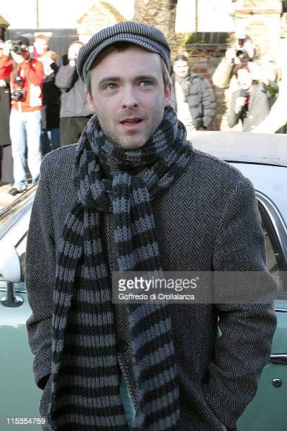 Fran Healy of Travis during New Band Aid 2 Recording of Do They Know It's Christmas at Air Studios November 14 2004 at Air Studios Lyndhurst Road in...