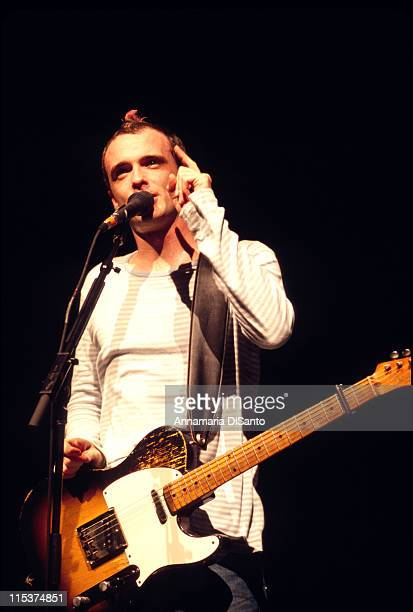 Fran Healy of Travis during Travis In Concert at Universal Amphlitheatre in Universal City California United States