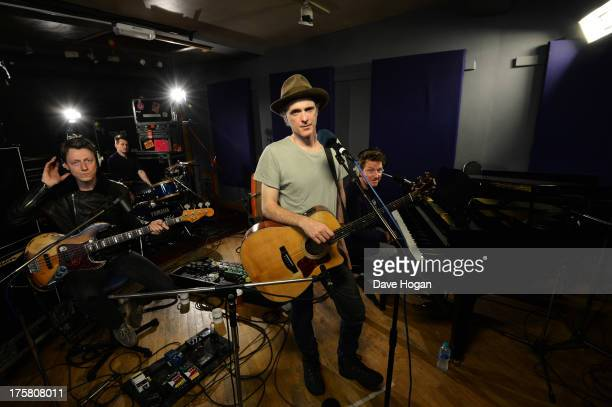 Fran Healy of Travis performs for a Biz Session on June 14 2013 in London England