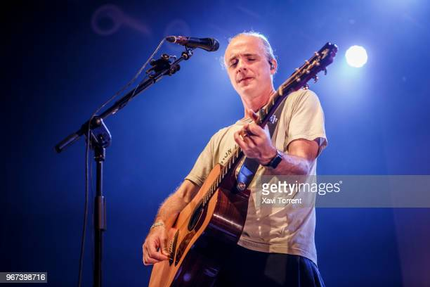 Fran Healy of Travis performs in concert at Razzmatazz during the Room Festival on June 4 2018 in Barcelona Spain