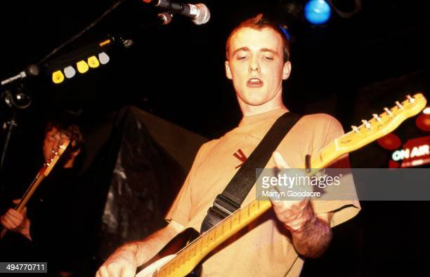Fran Healy of Travis performs on stage United Kingdom 1997