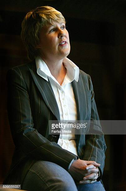 Fran Kelly, broadcaster with ABC Radio National, has left her London posting to take over Radio National Breakfast, 7 March 2005. AFR Picture by...