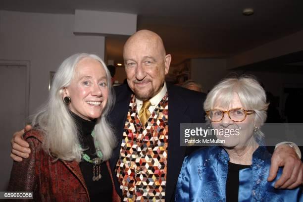 "Fran Kiernan, Joel Conarroe, Patricia Bosworth attend Patricia Bosworth and Joel Conarroe host party for BRAD GOOCH'S new book ""FLANNERY: A LIFE OF..."