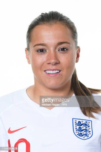 Fran Kirby of England poses for a portrait during the official FIFA Women's World Cup 2019 portrait session at Radisson Blu Hotel Nice on June 06...