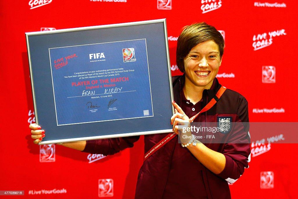 England v Mexico: Group F - FIFA Women's World Cup 2015 : News Photo
