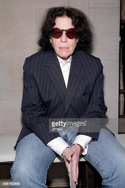 Fran Lebowitz attends Carolina Herrera Spring 2016 during New York Fashion Week The Shows on September 14 2015 in New York City