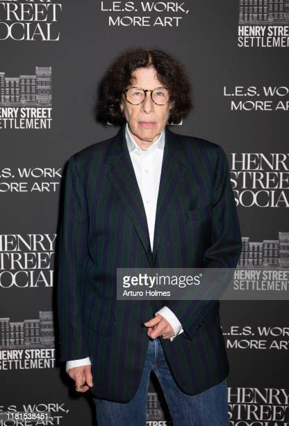 Fran Lebowitz attends the 2019 Henry Street Social LES Work More Art Gala at The Bowery Hotel on October 16 2019 in New York City