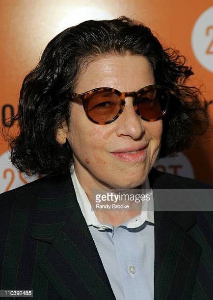 Fran Lebowitz during Birdie Blue OffBroadway Opening Night Arrivals at Second Stage Theater in New York City New York United States
