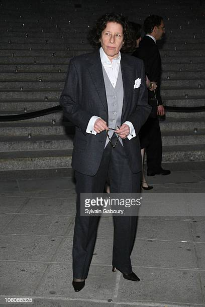 Fran Lebowitz during Vanity Fair Tribeca Film Festival Party at NY State Supreme Court House in New York NY United States