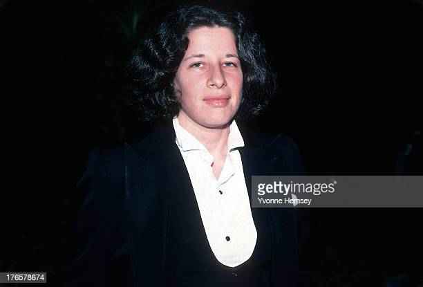 Fran Liebowitz is photographed October 1 1981 in New York City