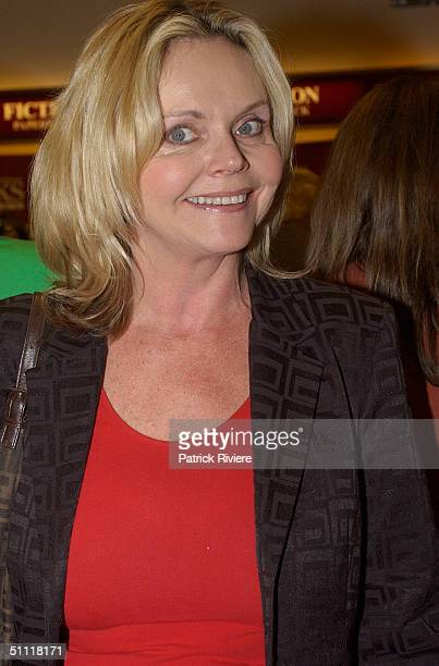 Fran MacPherson at Australia's most photographed model of the 40s and 50s June DallyWatkins launching of her new book 'The Secret Behind My Smile' at...