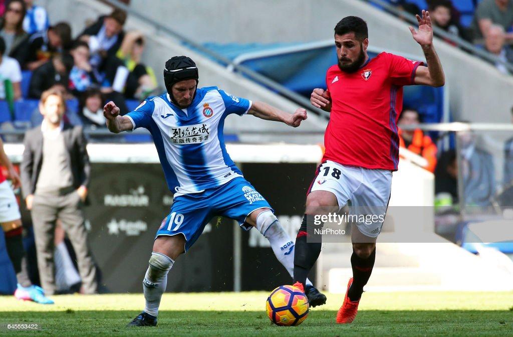 RCD Espanyol and Osasuna - Spanish League
