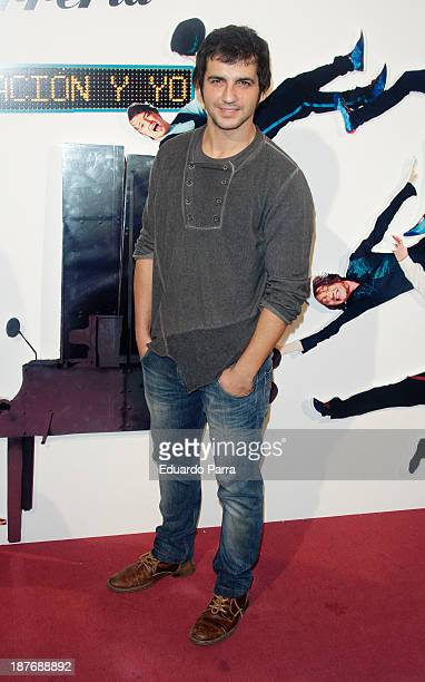 Fran Perea attends Alex O'Dogherty new album presentation party photocall at La Latina theatre on November 11 2013 in Madrid Spain