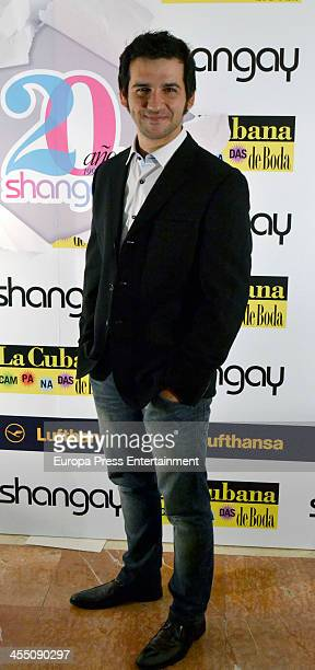 Fran Perea attends Shangay Magazine 20th Anniversary on December 10 2013 in Madrid Spain