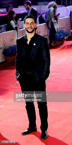Fran Perea attends the 'Requisitos Para Ser Una Persona Normal' premiere during the 18th Malaga Spanish Film Festival at Cervantes Theater on April...